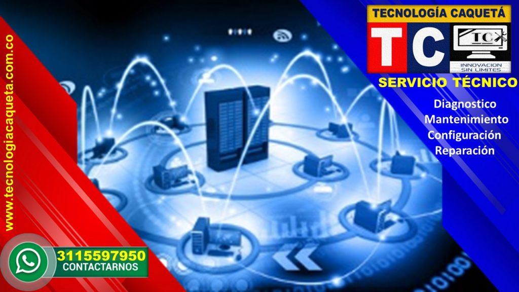 Instalacion de Redes en Tecnologia Caqueta