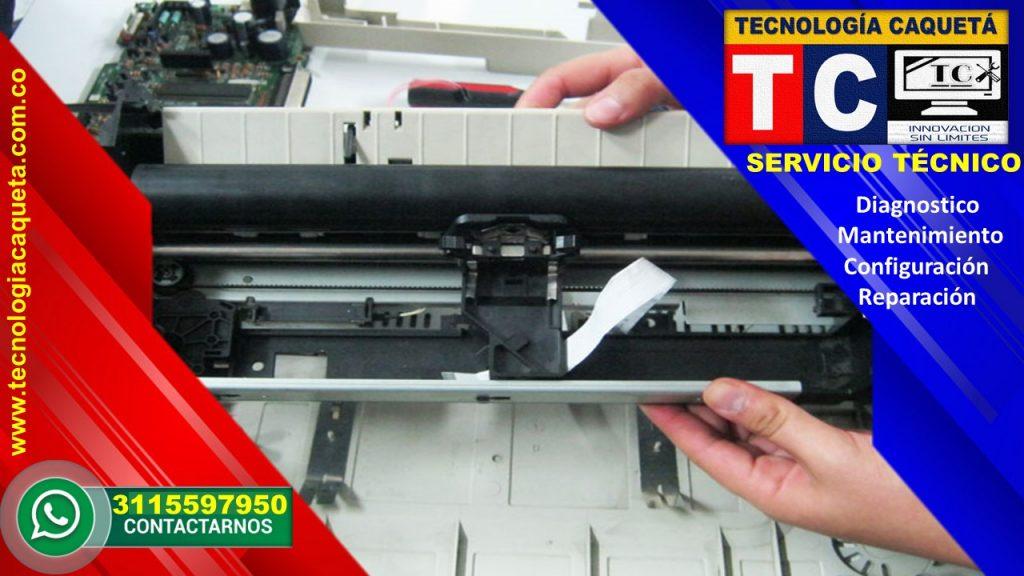 Mantenimiento de Impresoras - TECNOLOGIA CAQUETA 2