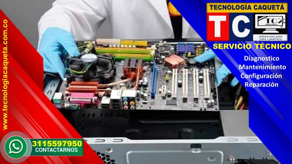Mantenimiento de computadores - Tecnologia Caqueta 3