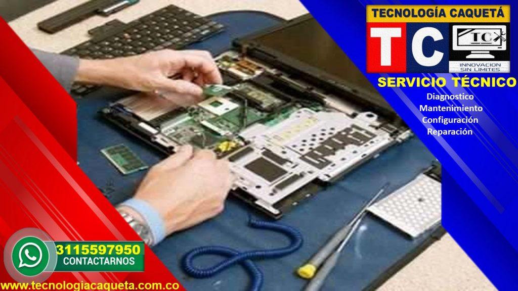 Tecnologia Caqueta - Servicio Tecnico Especializado - Diagnostico-Manteniiento-Configu110