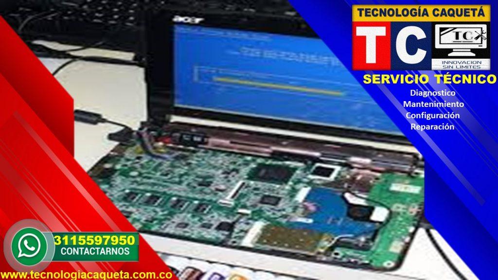 Tecnologia Caqueta - Servicio Tecnico Especializado - Diagnostico-Manteniiento-Configu111