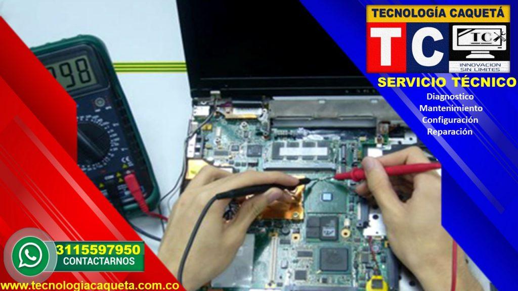 Tecnologia Caqueta - Servicio Tecnico Especializado - Diagnostico-Manteniiento-Configu112