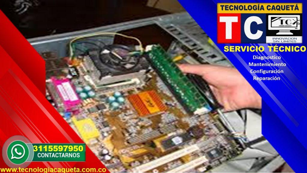 Tecnologia Caqueta - Servicio Tecnico Especializado - Diagnostico-Manteniiento-Configu114
