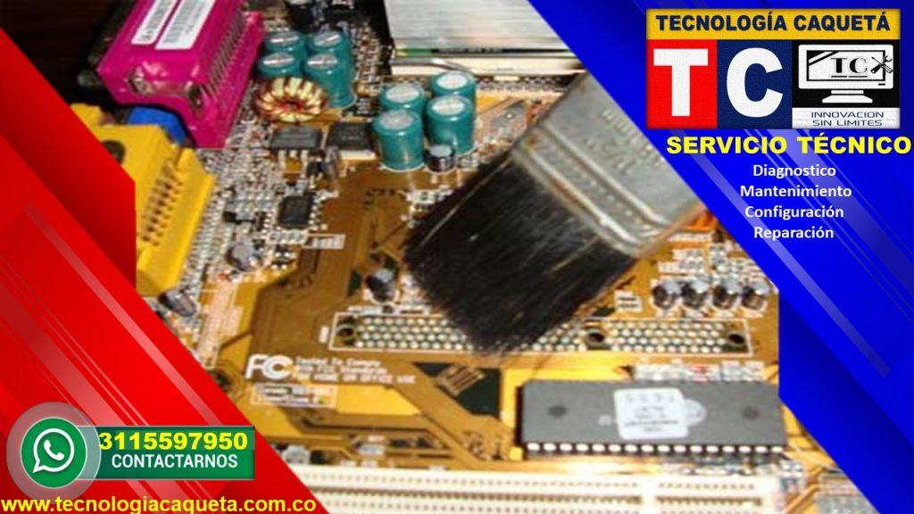 Tecnologia Caqueta - Servicio Tecnico Especializado - Diagnostico-Manteniiento-Configua22