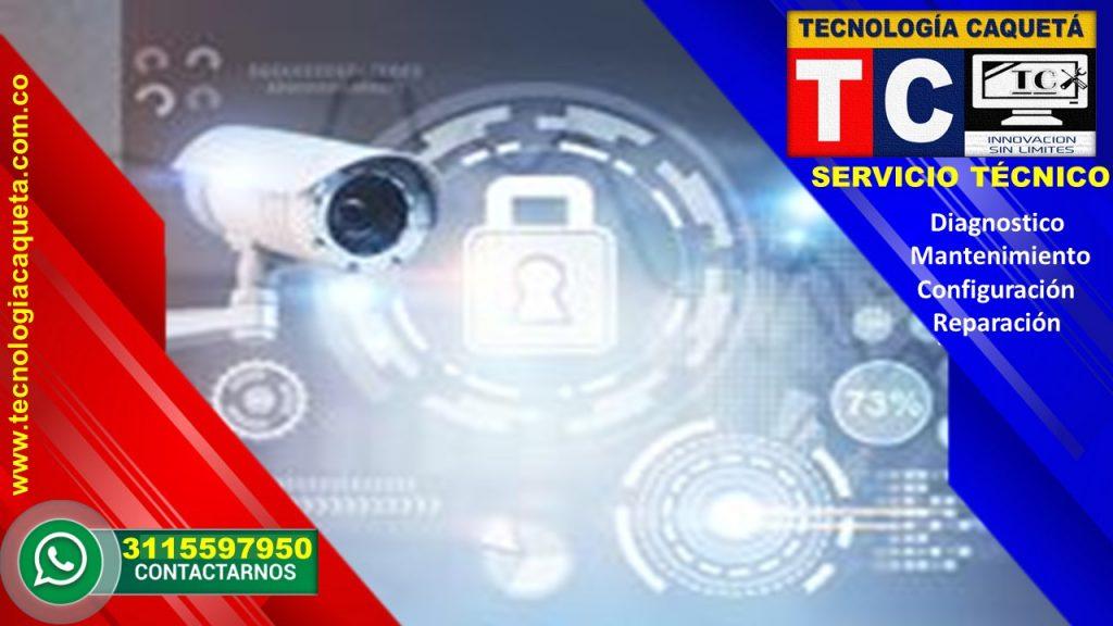 Instalacion-Diagnostico-Mantenimiento-Configuracion-Reparacion de Camaras-CCTV Por TECNOLOGIA CAQUETA