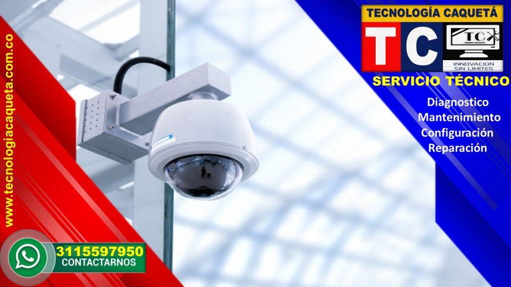 Instalación-Diagnostico-Mantenimiento-Configuración-Reparación de Cámaras-CCTV Por TECNOLOGIA CAQUETA