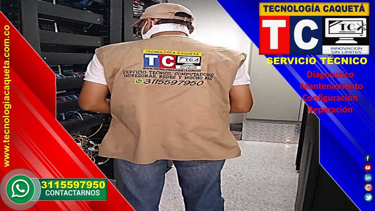 Soporte Tecnico TECNOLOGIA CAQUETA en Florencia Caqueta - WhatsApp 3115597950 -a 7