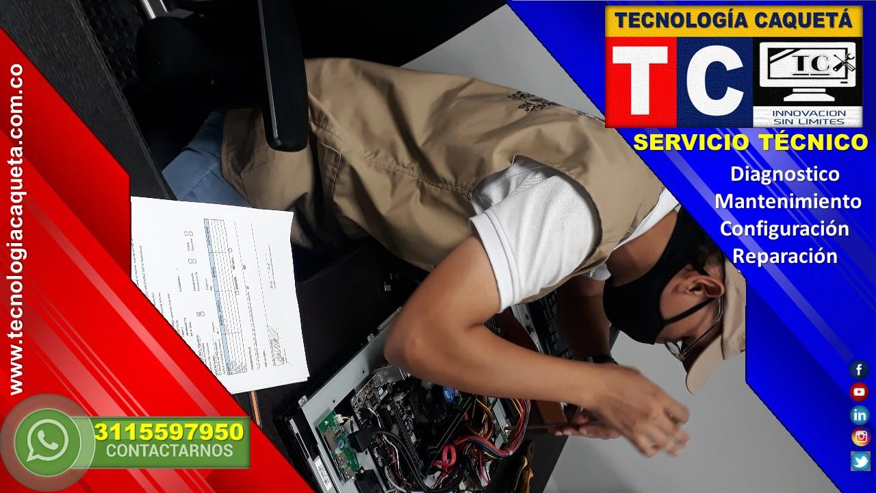 Cofiguracion de Computadores - TECNOLOGIA CAQUETA WhatsApp 3115597950 en Florencia Caqueta31