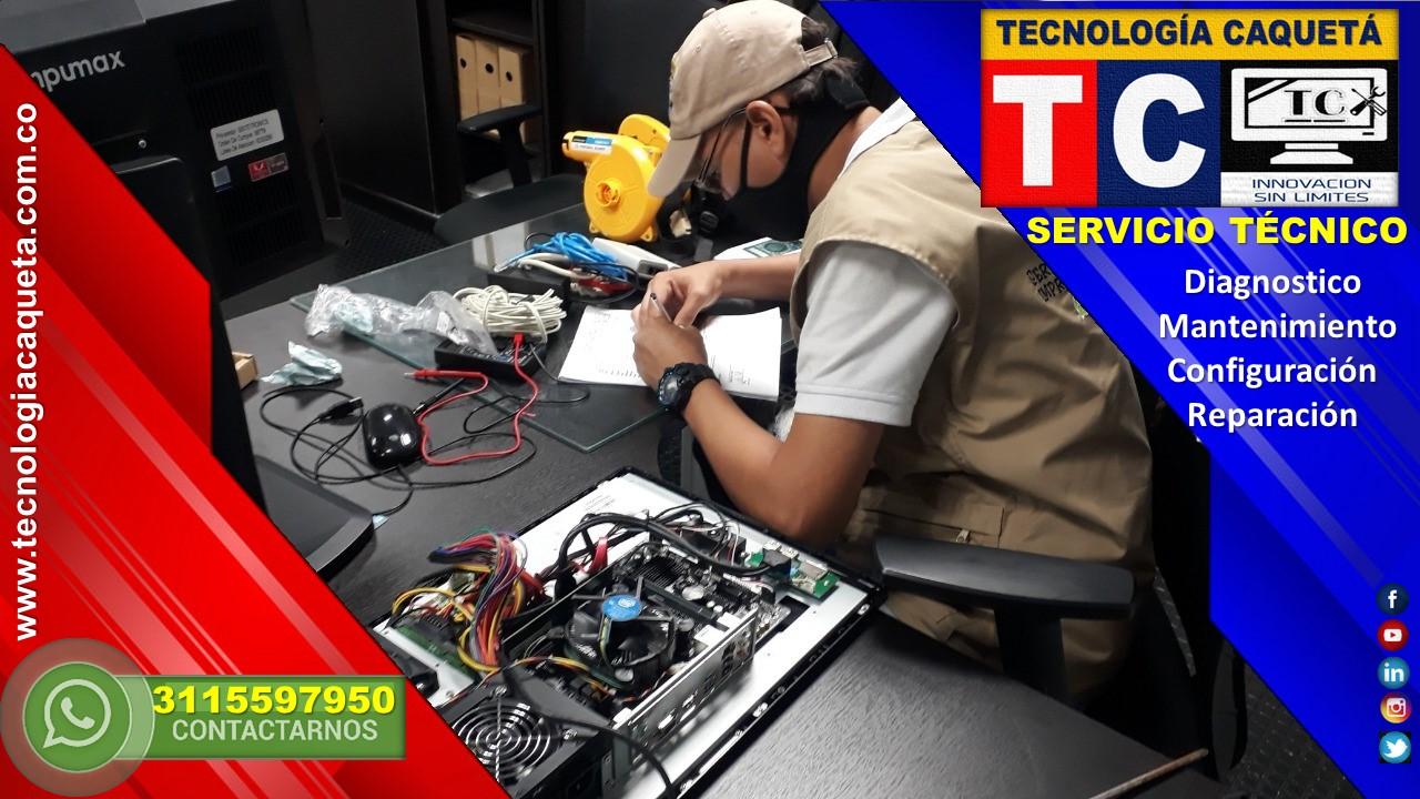 Mantenimiento de Computadores - TECNOLOGIA CAQUETA WhatsApp 3115597950 en Florencia Caqueta 6