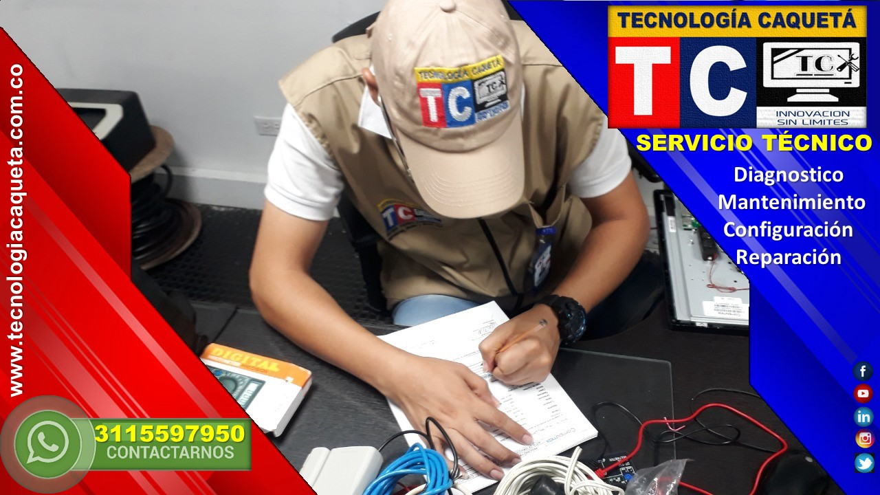 Reparacion de Computadores - TECNOLOGIA CAQUETA WhatsApp 3115597950 en Florencia Caqueta 32